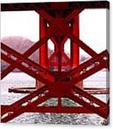 Beneath The Golden Gate Canvas Print