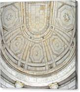 Beneath This Marble Ceiling Canvas Print
