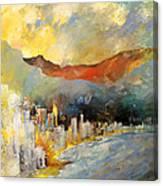Benidorm 01 Canvas Print