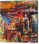 Benidorm 03 Canvas Print