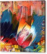 Benidorm En Fleur Canvas Print
