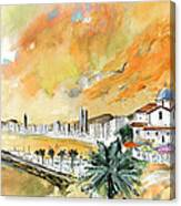 Benidorm Old Town Canvas Print