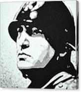 Benito Mussolini Canvas Print