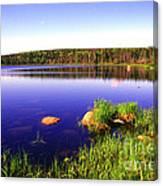 Benjies Lake Cape Breton Island Canvas Print