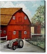 Bens Barn Canvas Print