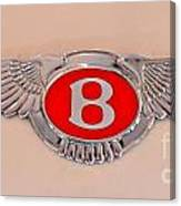 Bentley Emblem Canvas Print