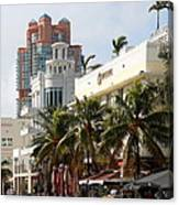 Bentley Hotel Miami Canvas Print