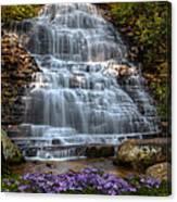 Benton Falls In Spring Canvas Print