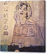 Benzene Canvas Print