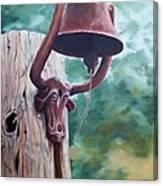 Beorne  Texas    Cowbell Canvas Print
