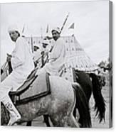 Berber Horsemen Canvas Print