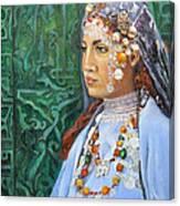 Berber Woman Canvas Print