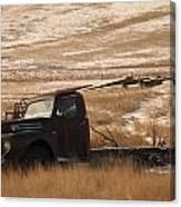 Bereft On The Plains Canvas Print