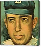 Bergen Brooklyn Dodgers Canvas Print