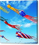 Berkeley Kite Festival 1 Canvas Print