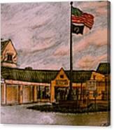 Berks County Jail Main Entrance Canvas Print