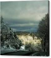 Berkshire Winter 2 Canvas Print