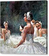 Berlin Dancers Canvas Print