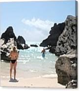 Bermuda Bikini Canvas Print