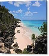 Bermuda Cliffside Canvas Print