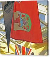 Bermuda Dockyard Canvas Print