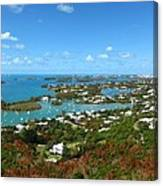 Bermuda From Gibbs Hill Lighthouse Canvas Print