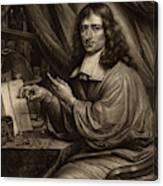 Bernard Vaillant Flemish, 1632 - 1698, Cornelis Mayer Canvas Print