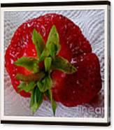 Berry Yummy Canvas Print