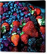 Berrylicious Canvas Print