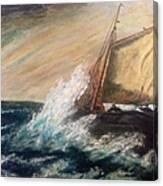 Berts Boat Canvas Print
