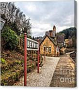 Berwyn Station Canvas Print