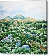 Beshtau Canvas Print