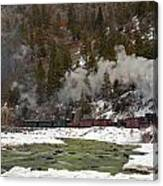Beside The Animas River Canvas Print