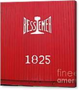 Bessemer Train Canvas Print