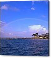 Best Complete Rainbow Over Santa Rosa Sound2 Canvas Print