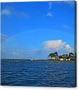 Best Complete Rainbow Over Santa Rosa Sound3 Canvas Print