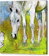 Best Friends Art Canvas Print