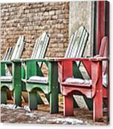 Best Seats In Town Canvas Print