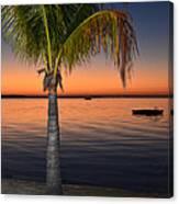 Best Sunset Ever Canvas Print