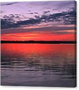 Bethany Beach Sunset Canvas Print