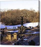 Bethesda Fountain 2013 - Central Park - Nyc Canvas Print