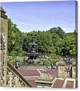 Bethesda Fountain V - Central Park Canvas Print