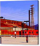 Bethlehem Steel Buildings Canvas Print