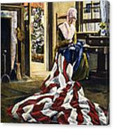 Betsy Ross (1752-1836) Canvas Print