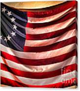 Betsy Ross Flag Canvas Print