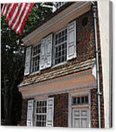 Betsy Ross House Canvas Print