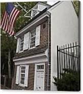 Betsy Ross House Philadelphia Pennsylvania Canvas Print
