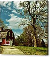 Betsy William's House Canvas Print