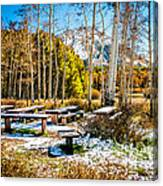 Better Re-think That Picnic Canvas Print