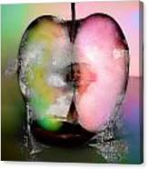 Between My Apples  Canvas Print